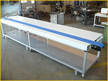 Aluminium conveyor belts