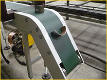 Magnetic conveyor belts