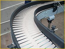 Plastic shutter conveyors